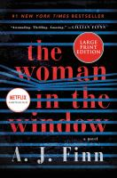 Cover image for The woman in the window [large print]