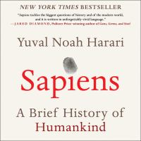 Cover image for Sapiens A Brief History of Humankind.