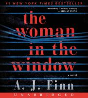 Cover image for The woman in the window [sound recording CD] : a novel