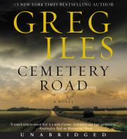 Cover image for Cemetery road [sound recording CD] : a novel