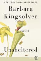 Cover image for Unsheltered a novel