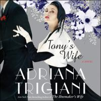 Cover image for Tony's wife A Novel.