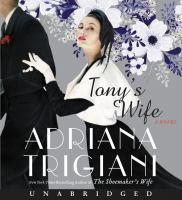 Imagen de portada para Tony's wife [sound recording CD]