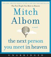 Cover image for The next person you meet in Heaven [sound recording CD]