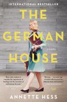 Imagen de portada para The German house : a novel