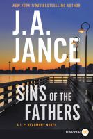Imagen de portada para Sins of the fathers. bk. 24 [large print] : J. P. Beaumont series