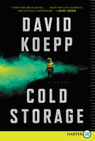 Cover image for Cold storage a novel