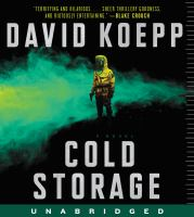 Cover image for Cold storage [sound recording CD] : a novel