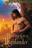 Cover image for Hunting for a Highlander. bk. 8 : Highland brides series