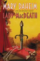 Cover image for LADY MACDEATH - May 2021