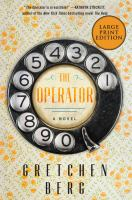 Cover image for The operator [large print] : a novel