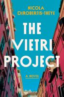 Cover image for The Vietri project : a novel