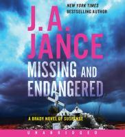 Imagen de portada para Missing and endangered. bk. 19 [sound recording CD] : Joanna Brady series