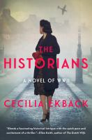 Cover image for The historians : a novel