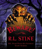 Cover image for Beware! : R.L. Stine picks his favorite scary stories