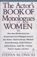 Cover image for The Actor's book of monologues for women from non-dramatic sources
