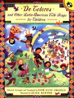Cover image for De colores and other Latin-American folk songs