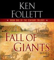 Imagen de portada para Fall of giants. bk. 1 Century trilogy
