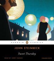 Imagen de portada para Sweet Thursday