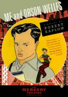 Cover image for Me and Orson Welles : a novel