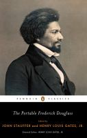 Cover image for The portable Frederick Douglass