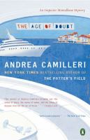 Cover image for The age of doubt. bk. 14 : Inspector Montalbano series