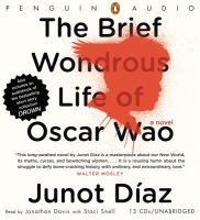 Cover image for The brief wondrous life of Oscar Wao Drown