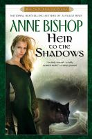 Cover image for Heir to the shadows book 2 of the black jewels trilogy