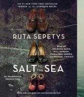 Cover image for Salt to the sea [sound recording CD]