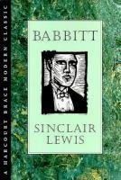 Cover image for Babbitt :  A Harcourt Brace modern classic