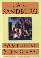 Cover image for The American songbag
