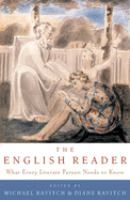 Imagen de portada para The English reader : what every literate person needs to know
