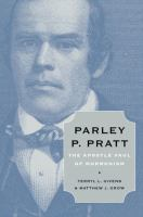 Cover image for Parley P. Pratt : the Apostle Paul of Mormonism