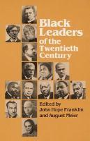 Imagen de portada para Black leaders of the twentieth century