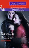 Cover image for Raven's Hollow [large print]