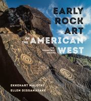Cover image for Early rock art of the American West : the geometric enigma