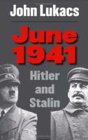 Cover image for June 1941 : Hitler and Stalin