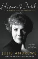 Cover image for Home work [large print] : a memoir of my Hollywood years
