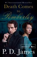 Cover image for Death comes to pemberley