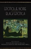Cover image for Erotique noire/black erotica