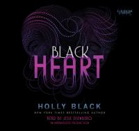 Cover image for Black heart. bk. 3 Curse workers series