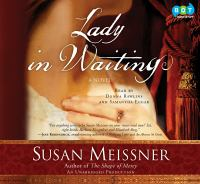 Cover image for Lady in waiting A Novel.