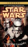 Cover image for Star Wars Allegiance