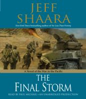 Cover image for The final storm a novel of the war in the Pacific