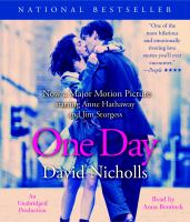 Cover image for One day