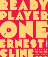 Cover image for Ready player one [sound recording CD]