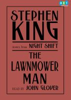 Cover image for The lawnmower man and other stories from Night shift