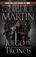 Cover image for Juego de tronos. bk. 1 : canción de hielo y fuego