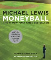 Cover image for Moneyball [sound recording CD] : the art of winning an unfair game