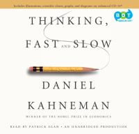 Cover image for Thinking, fast and slow